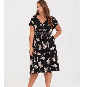 TORRID size 2 floral dress